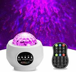 Galaxy Light Projector Star Projector Skylight for Bedroom Ceiling LED Starli...