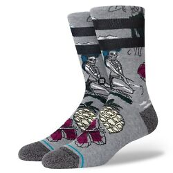 Stance Socks #x27;Haunted Hula#x27; M Crew Casual New With Tags $16.99