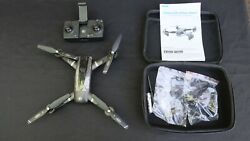 Sky Toys Drone Snaptain SP500 Foldable GPS Four Axis Aerial Drone w Case $89.95