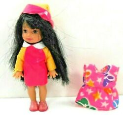 Barbie Vintage 1994 Kelly Doll w Raincoat amp; Matching Hat Shoes Extra Dress $9.99
