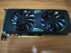 EVGA Nvidia GeForce GTX 970 4GB GPU VRAM Graphics Card PC Gaming Used $284.97