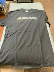 FRUIT OF THE LOOM COTTON SKY ZONE TRAMPOLINE PARK BLACK T SHIRT ADULT MEDIUM 00 $12.00