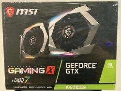 MSI GAMING X NVIDIA GeForce GTX 1660 Super 6GB Graphics Card Ships Fast 🚚💨 $799.99