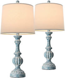 """Oneach Traditional Table Lamps for Living Room 24.5"""" Bedside Nightstand Lamp F $118.99"""