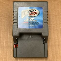 Genuine Tyco R C 6.0V NiCd Battery Charger Model 97433 RC CHARGER $5.99
