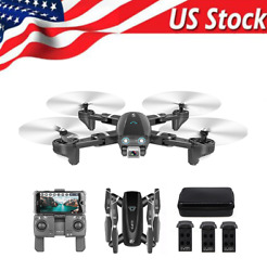 CSJ S167 Drones GPS WiFi FPV with 4K HD Wide Angle Camera Foldable RC Quadcopter $100.48
