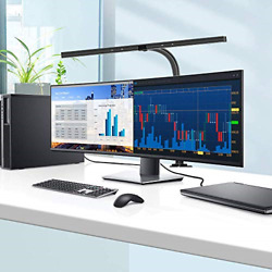 LED Desk Lamp EppieBasic 24 Watts Office Desk Lamps with Architect Clamp Light $106.46