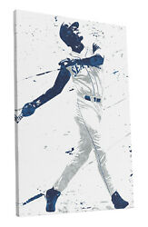Ken Griffey Jr Seattle Mariners Art Wall Room Canvas Poster CANVAS $24.99