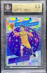 Lonzo Ball 2017 18 Panini Revolution Showstoppers Cubic 50 Rookie BGS 9.5 POP 4