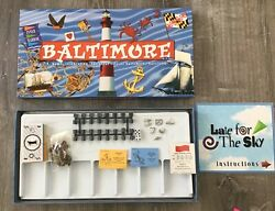 Baltimore In A Box Monopoly Board Game by Late For The Sky PARTS ORIGINAL SHRINK $11.77