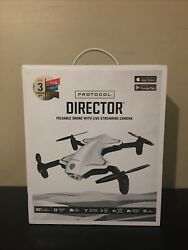 Protocol 6182 7RCHA WAL Director Foldable Drone with Live Streaming HD Camera $60.00