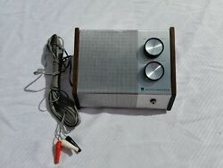 Vintage Electronic Sound Master With Remote And Master Volume Crescent $12.99