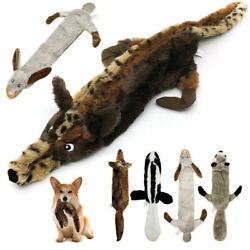 Pet Indestructible No Stuffing Plush Dog Sound Chew Squeaker Squeaky Toys Hot $7.40