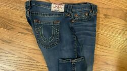 TRUE RELIGION HIGH WAISTED SKINNY JEANS SIZE 33 X 28 $29.99