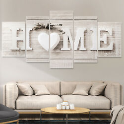 5PCS Wall Art Canvas Painting Home Unframed Decor Print Modern Oil Abstract Gift $13.98