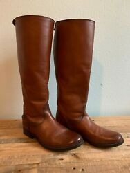 Frye Melissa Button Back Zip Extended Calf Boots $100.00