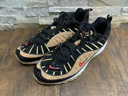 Nike Air Max 98 quot;New Yearquot; Black Cork Red Shoes CT1173 001 Mens Size 10 $115.00