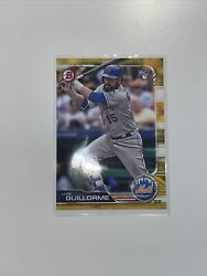 2018 Bowman Paper Gold SSP 50 Luis Guillorme RC Rookie 39 Mets $39.99