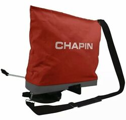 CHAPIN CANVAS BAG SEEDER FERTILIZER SPREADER DEER FOOD PLOTS SEED 84700A $39.45
