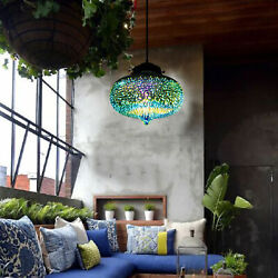 NEW Colorful Ceiling Pendant fixtures 3d Glass Fireworks Lampshade 22 * 7.87inch $54.01