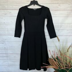 AX Armani Exchange Special Occasion Black Formal Cocktail Dress Petite Sz 0 NEW