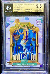 Lonzo Ball 2017 18 Panini Cornerstones Downtown Rookie RC Low Pop BGS 9.5