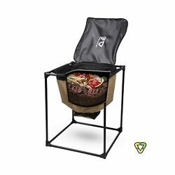 Urban Worm Bag Worm Composting Bin Version 2 New Design for 2021 with Fully... $161.86
