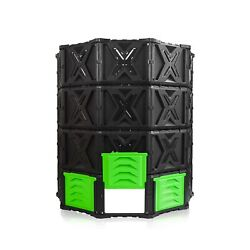 XXL Large Compost Bin Outdoor 720L 190 Gallon Easy Assembly No Screws BPA F... $128.13