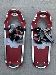 Atlas Snow Shoes 18quot; Youth size Red Grey $49.95