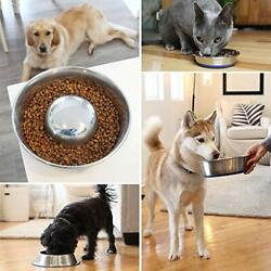 Dog Pet Slow Feeder Durable Stainless Steel Bowl Cat Durapet® Superb Quality $15.72