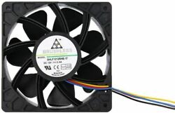 Antminer Bitmain 7500RPM Dual Ball Bearing 4 pin Connector Replacement FAN 5.0A $21.99