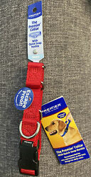 """NEW Premier Martingale Collar with Quick Snap Buckle 3 4quot; Red Small 8"""" 12"""" $8.99"""