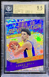Lonzo Ball 2017 18 Panini Revolution Rookie Revolution Impact RC BGS 9.5 POP 3