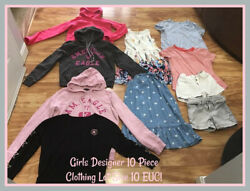 American Eagle Converse Old Navy Girls 10 Piece Designer Clothing Lot Size 10