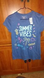 girls 10 12 shirts children place lot of 7 plus PR of capris...all new but 2 $18.00