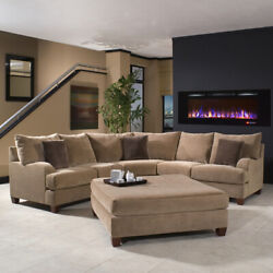Regal FlameAstoria 60quot;Built In Ventless Heater Recessed Wall Fireplace Multi $939.99