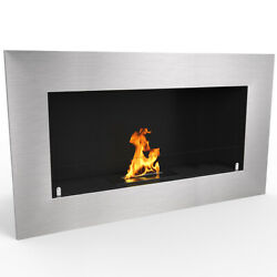 Regal FlameWarren 35quot; Pro Ventless Built Recessed Bio Ethanol Wall Fireplace $499.99