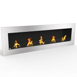 Regal FlameWarren 72quot; Pro Ventless Built In Recessed Bio Ethanol Wall Fireplace $999.99