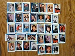 1992 CMA Country Gold Trading Card Lot of 36 w Gold Foil Inserts