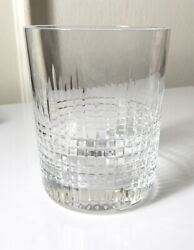 Baccarat Crystal NANCY Old Fashioned Glass $134.95