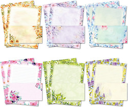 Stationary Writing Paper with Envelopes Flora Stationery Set with Lined Letter $20.99