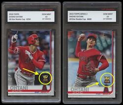 SHOHEI OHTANI TOPPS SERIES 1 2 ALL STAR ROOKIE GOLD CUP 1ST GRADED 10 CARD LOT $89.99