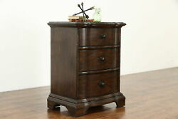Rustic Farmhouse Vintage Nightstand Chest or End Table Drexel Heritage #37630 $695.00