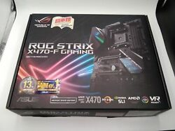 Asus Atx Gaming Motherboards For Amd Cpus Rog Strix X470 F J4M0Fm167410 $320.70
