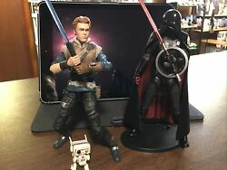 Star Wars The Black Series Cal Kestis BD 1 and Second Sister Inquisitor Complete $55.00