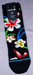 Stance Kids Socks #x27;Our Roots Kids#x27; Youth Medium 11 2 Crew New With Tags $10.99