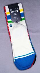 Stance Kids Socks #x27;Grasproots Kids 3 Pack#x27; YM 11 2 Crew New With Tags $19.99