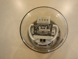 VINTAGE WESTINGHOUSE TYPE CS 3 WIRE SINGLE PHASE 15 AMP 240 VOLT ELECTRIC METER $25.00