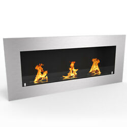 Regal FlameWarren 50quot; Pro Ventless Built In Recessed Bio Ethanol Wall Fireplace $539.99