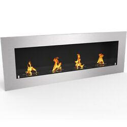 Regal FlameWarren 60quot; Pro Ventless Built In Recessed Bio Ethanol Wall Fireplace $679.99